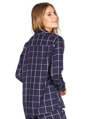 camisa-xadrez-feminina-manga-longa-azul-marinho-pijama-56798