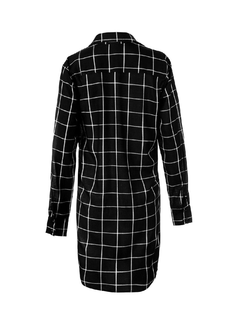 4445a04c2 ... vestido-camisao-xadrez-para-usar-como-camisola-56799