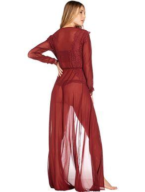 robe-longo-de-tule-transparente-estilo-chemise-vermelho-90191