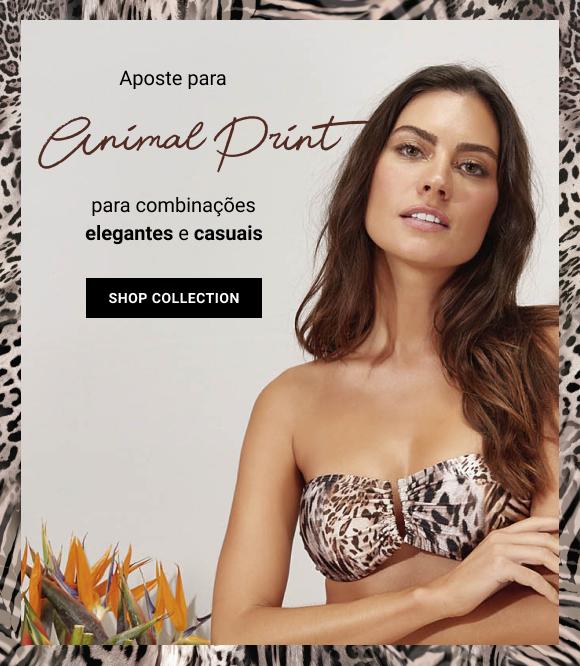 Banner Biquini - animal